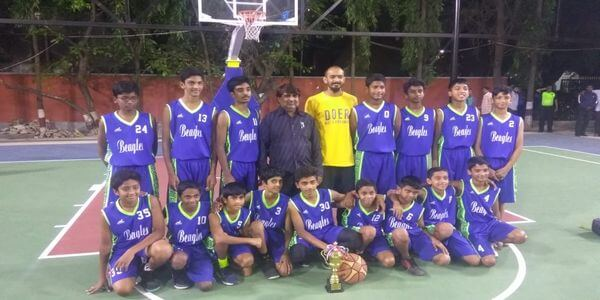 Abbas selected as captain of U-13 state basketball team
